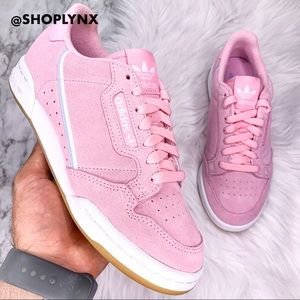 Adidas Continental 80 Pink Suede Sneaker